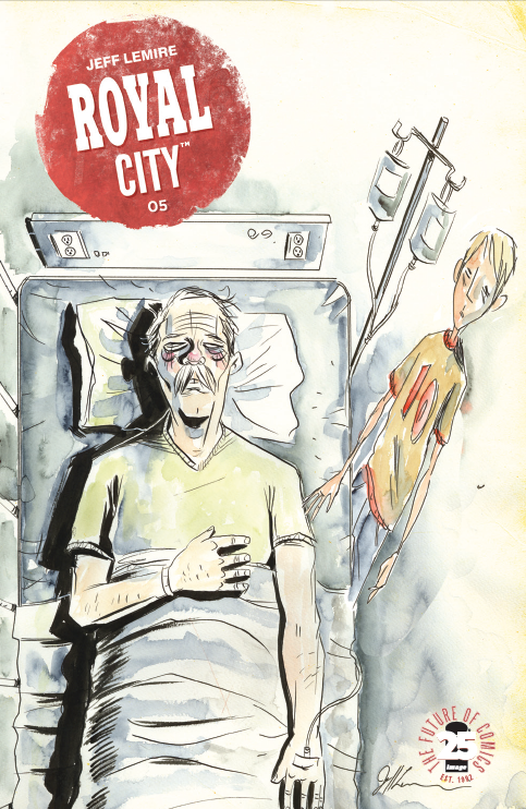Royal City #5 Review