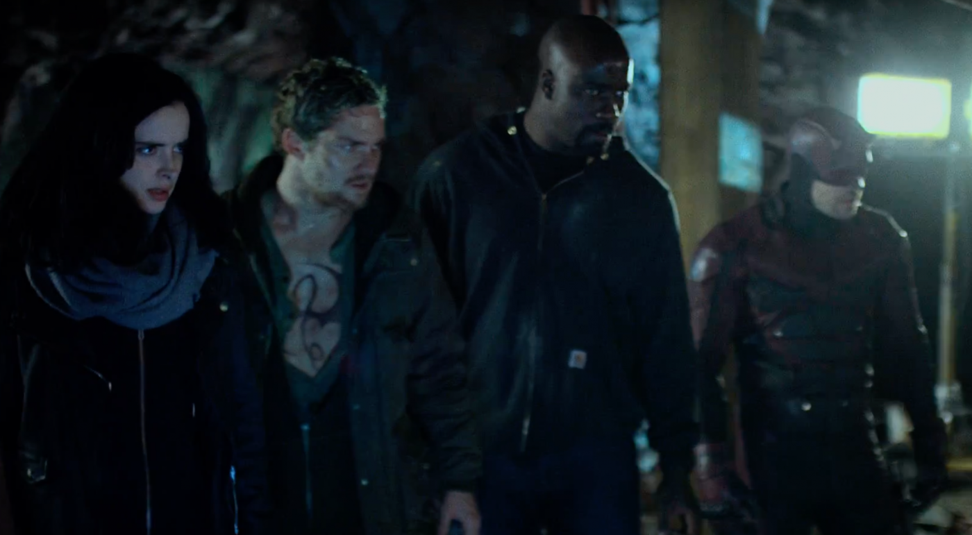 Watch: The new, intense trailer for 'The Defenders'