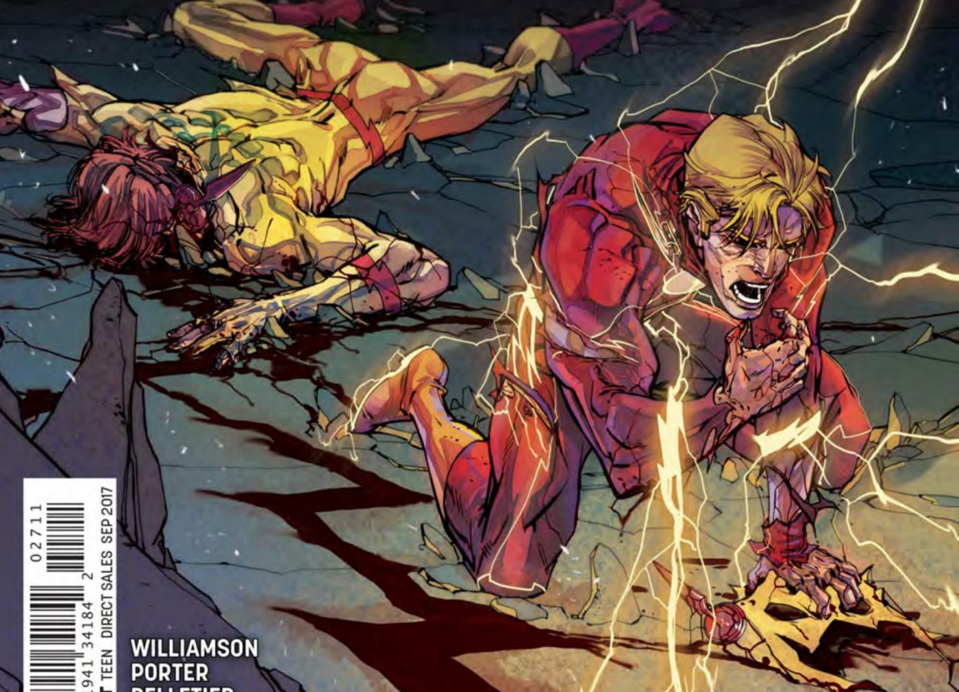 SDCC 2017: A chat with Flash writer Joshua Williamson about 'Metal', Flash and more!