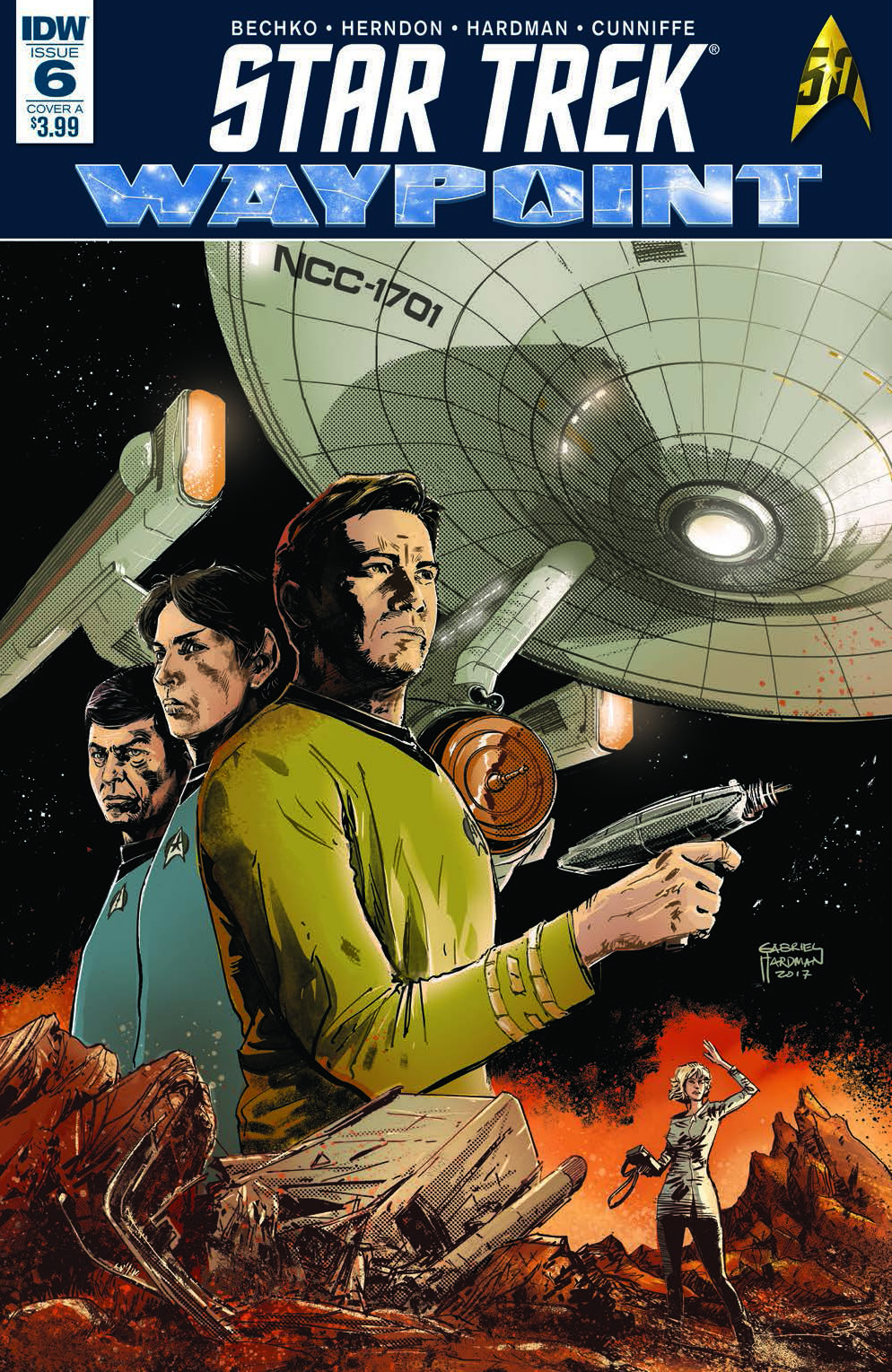 Star Trek: Waypoint #6 Review