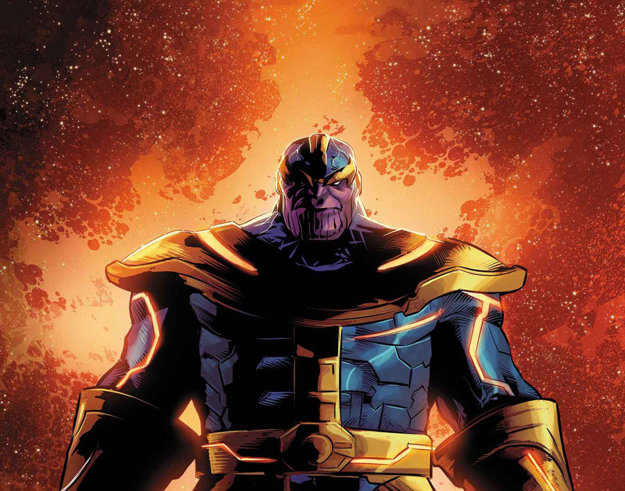 Thanos has all six Infinity Stones in latest 'Avengers: Infinity War' promo art