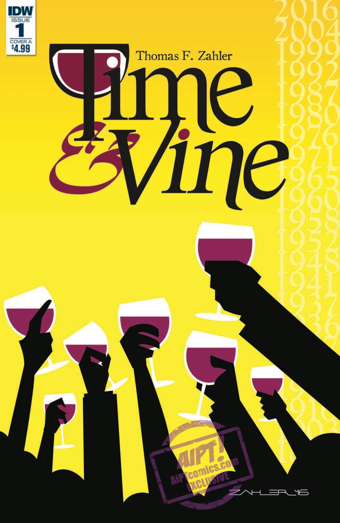[EXCLUSIVE] IDW Preview: Time & Vine #1