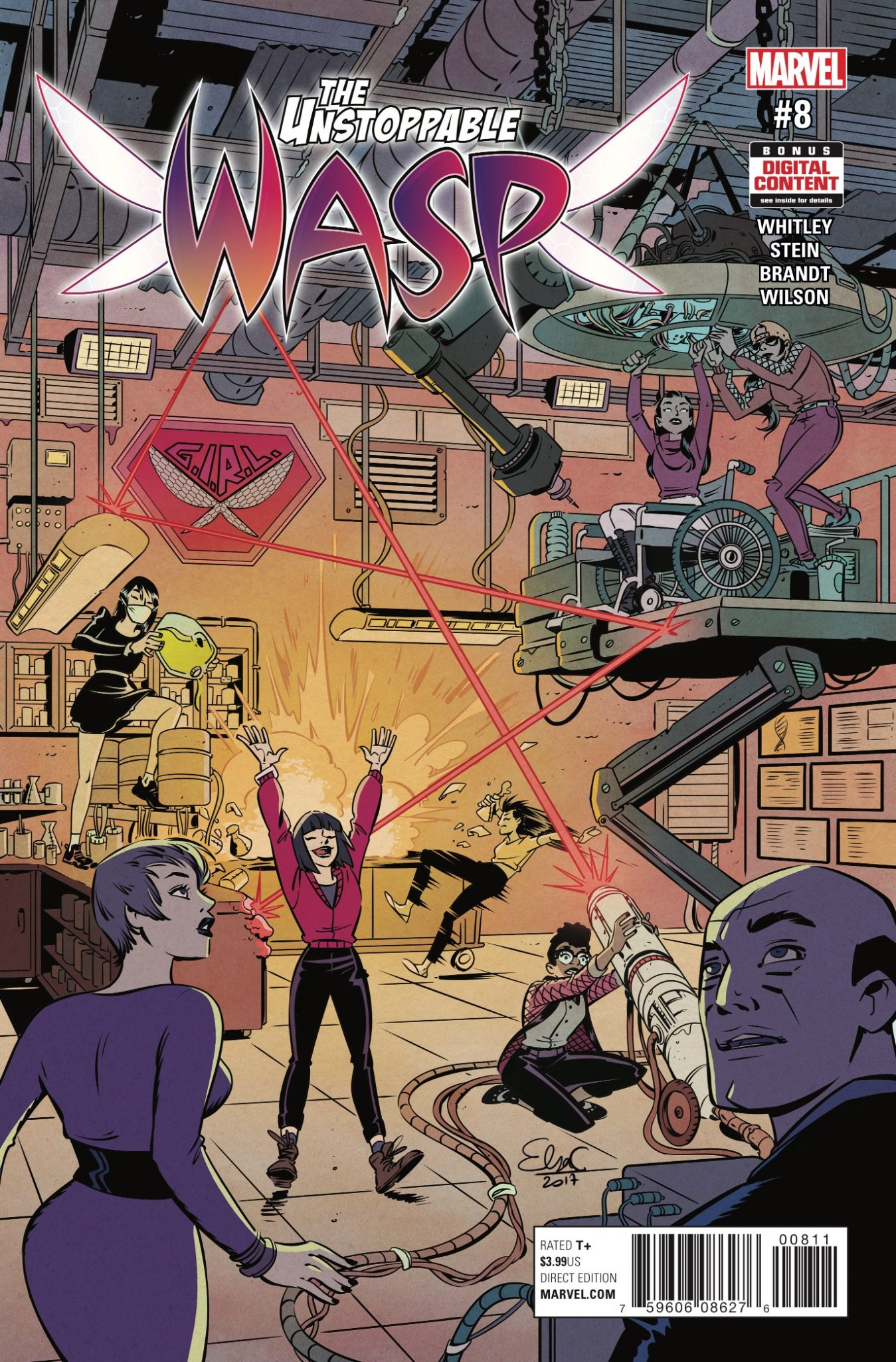 The Unstoppable Wasp #8 Review