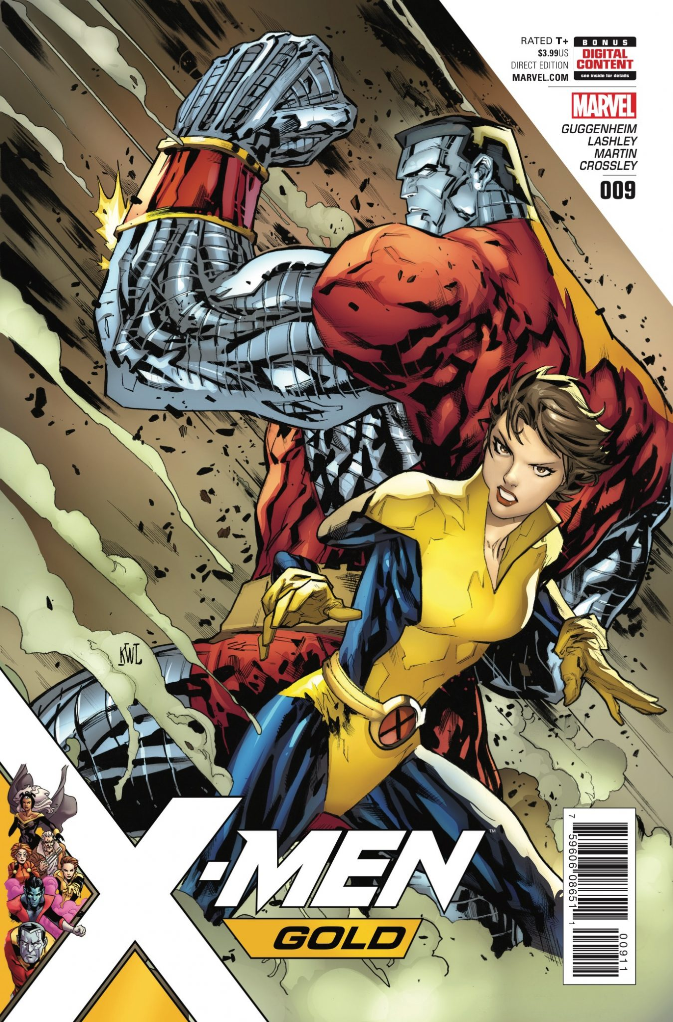 """Kitty Pryde has sworn off men named """"Peter."""" But when she and her first love – Peter """"Colossus"""" Rasputin – are caught in dire straits, will she find herself going back on her word?"""