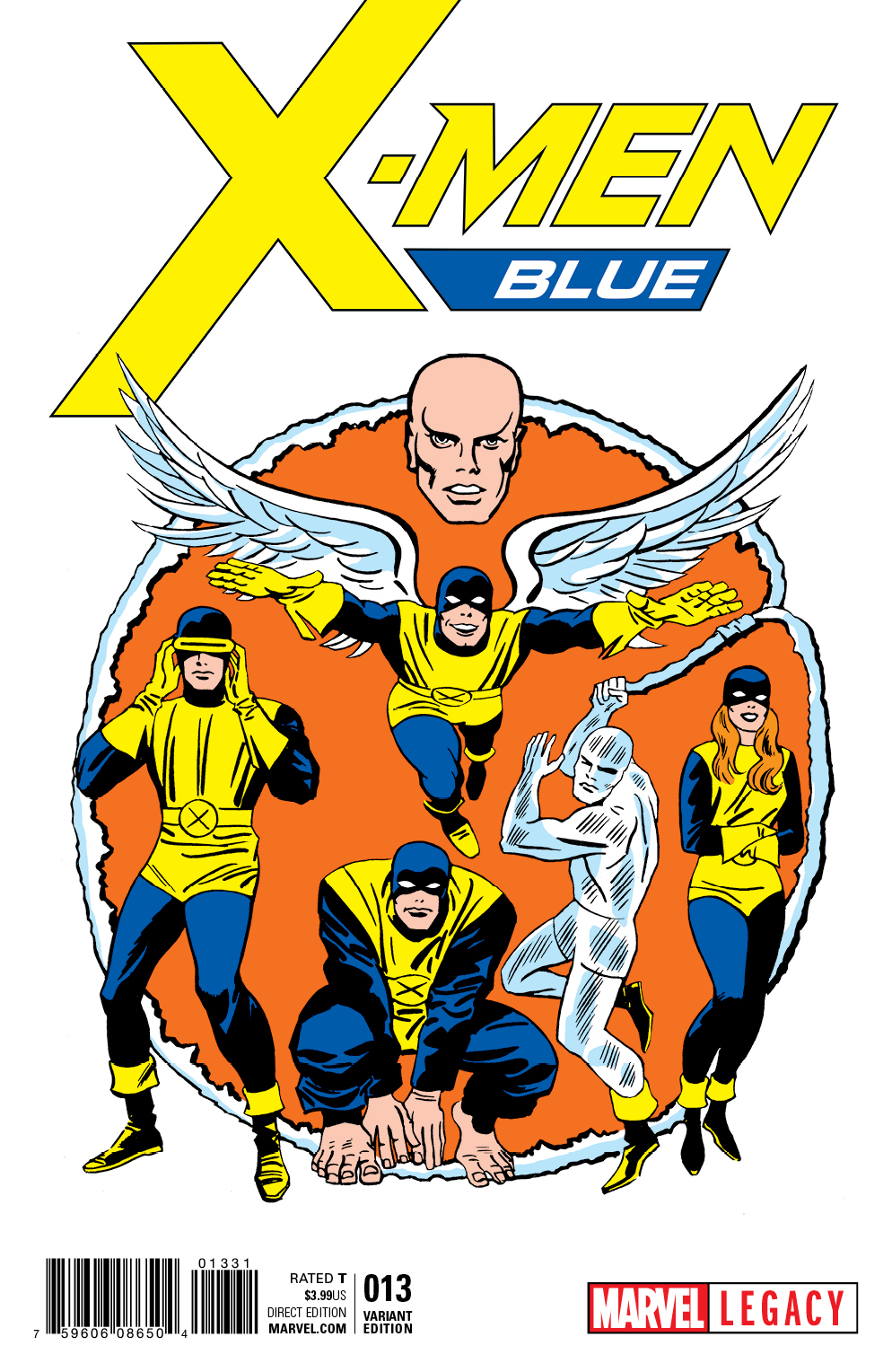 A major retcon changes everything in X-Men Blue #19