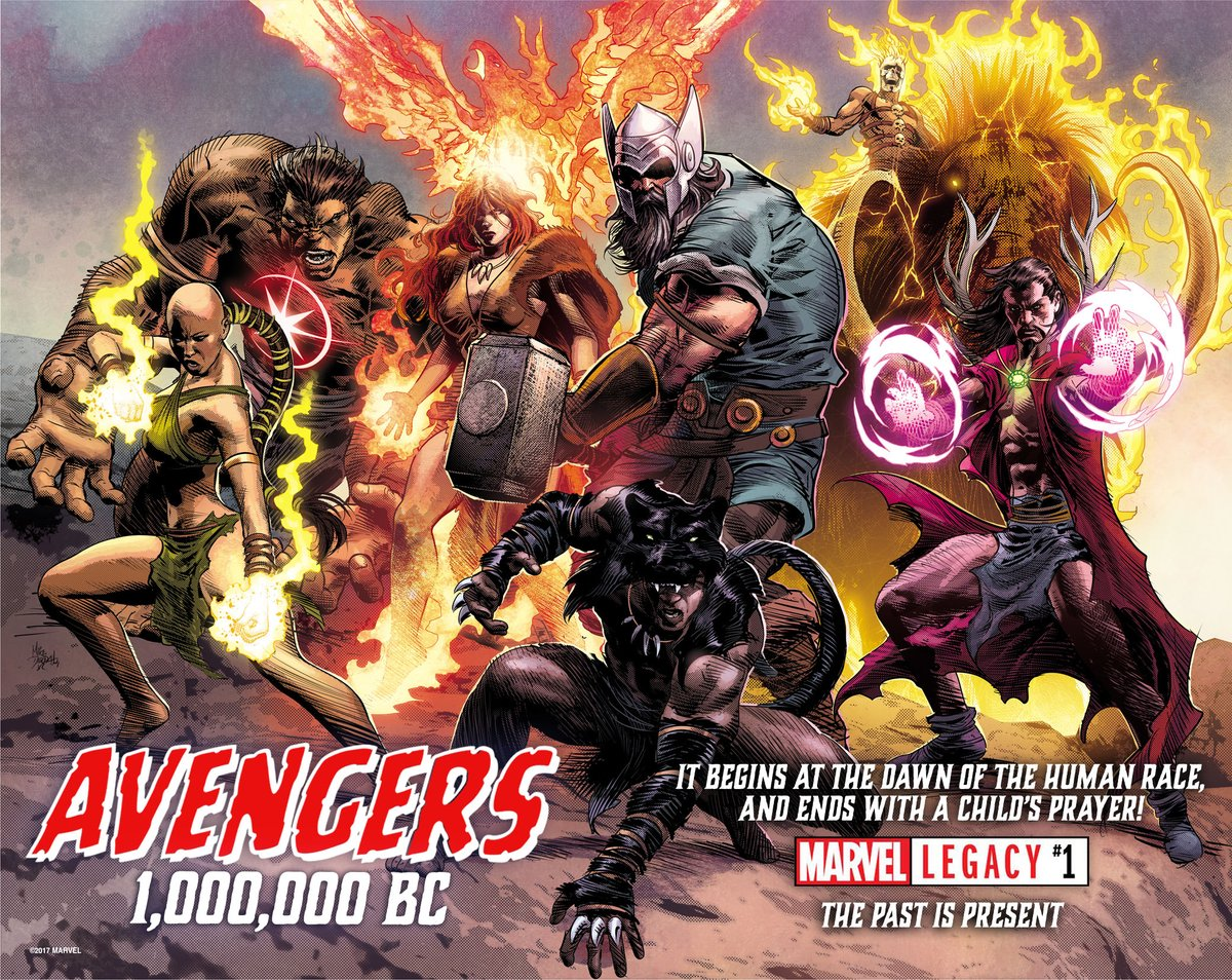 "The real problem with Marvel Legacy's ""Avengers of 1,000,000 BC"""