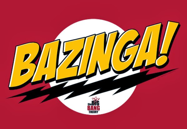 """Science confirms:  The Big Bang Theory's """"BAZINGA!"""" is worthless"""