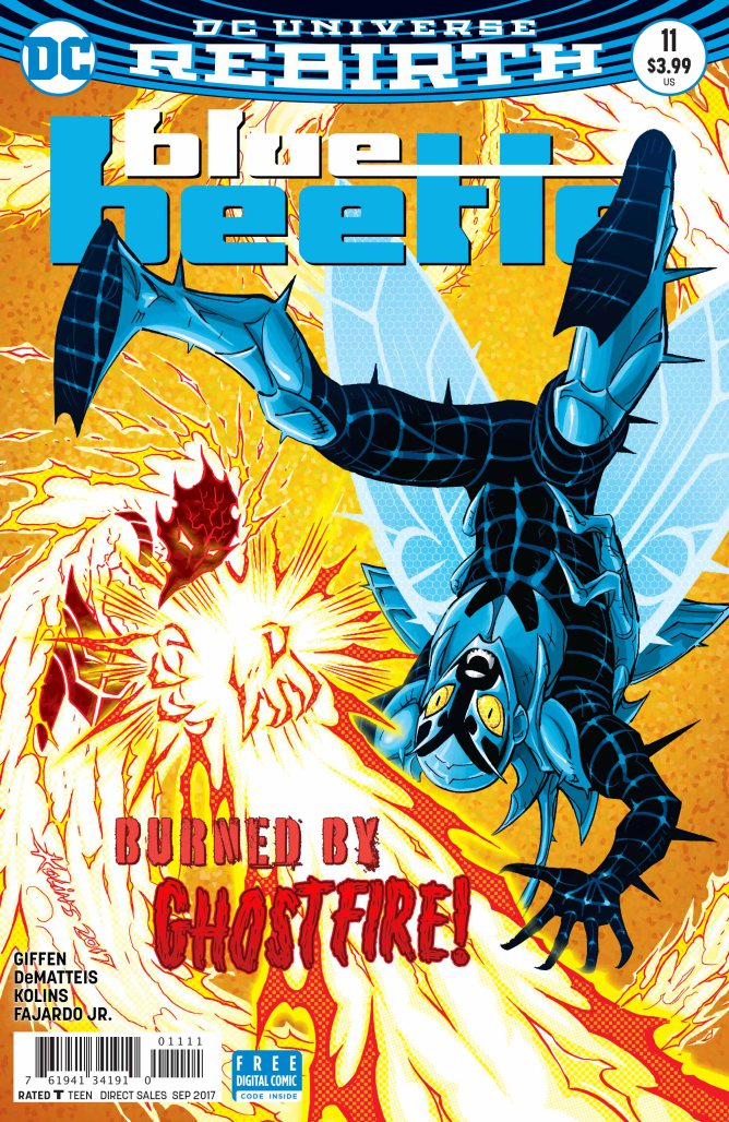Blue Beetle #11 Review