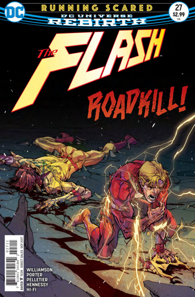 'The Flash' #27 is a must-read issue. An entire issue of pure action and suspense.