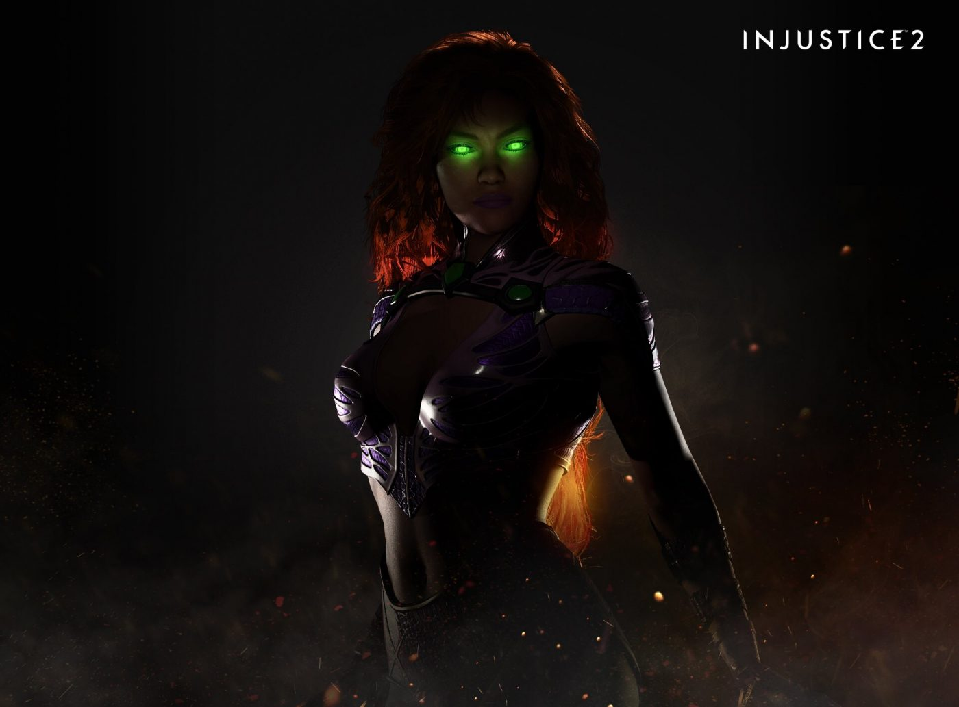 SDCC '17: Say hello to the newest addition to 'Injustice 2': Starfire
