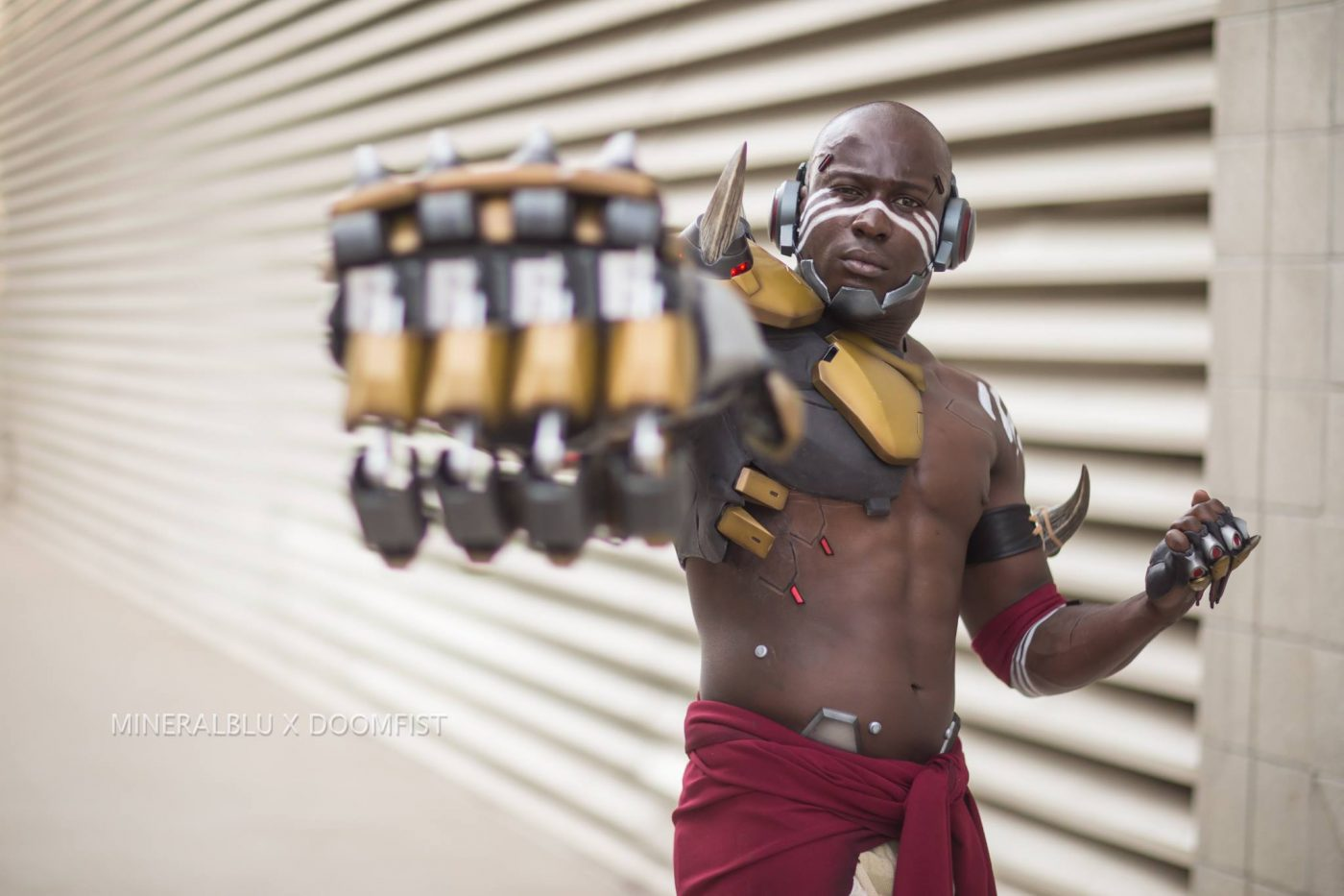 Blizzard unveils amazing, official Doomfist 'Overwatch' cosplay at SDCC '17