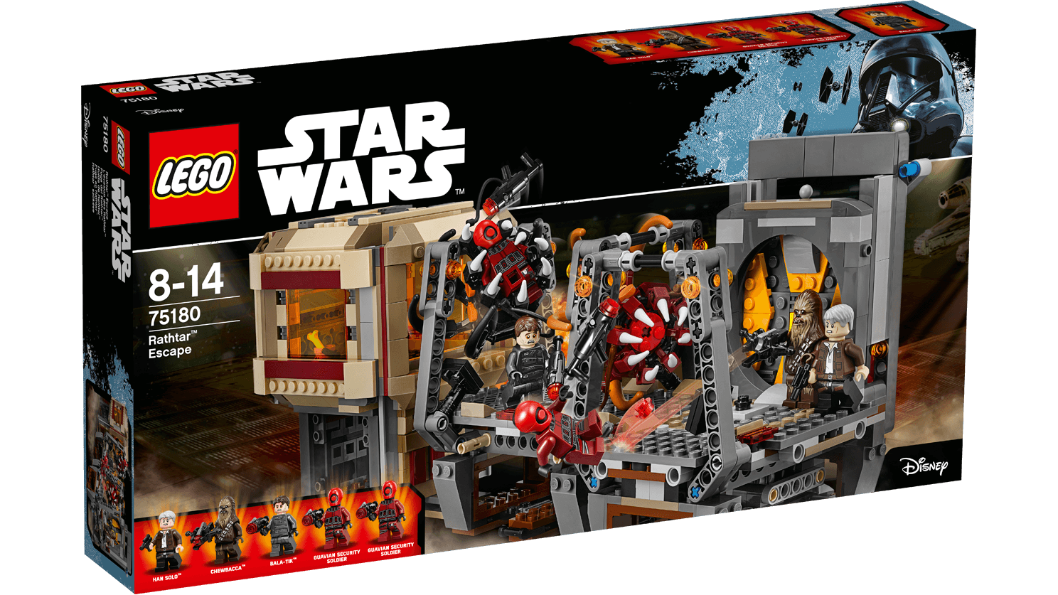 Star Wars: Rathtar Escape LEGO set is a fun set for 'The Force Awakens' fans
