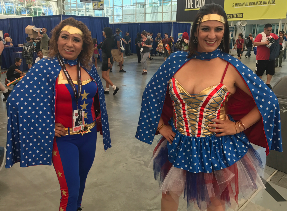 SDCC 2017: Who wore it best? Wonder Woman cosplay
