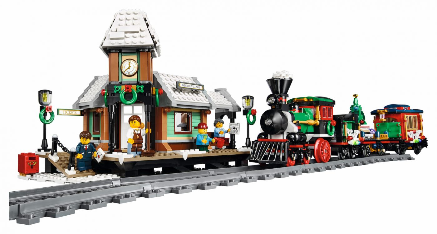 LEGO reveals the brand new Winter Village Station play set right in time for the holidays!