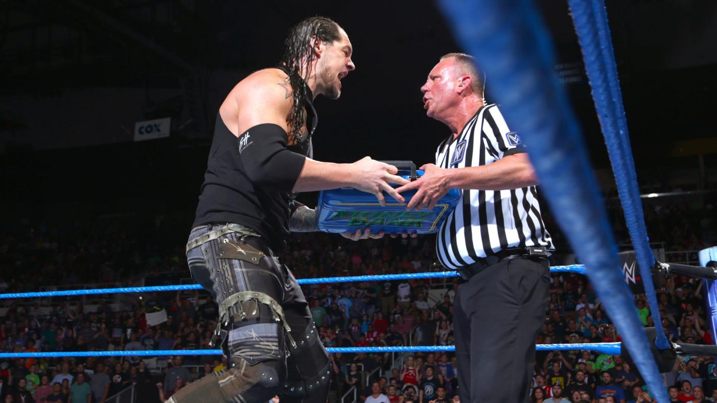 Baron Corbin cashed in his Money in the Bank Briefcase -and lost