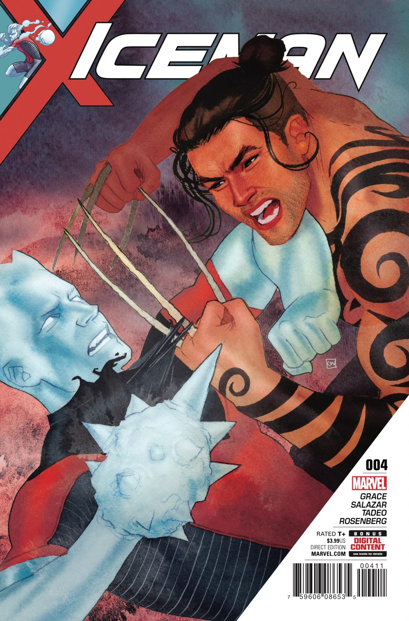 Marvel Preview: Iceman #4