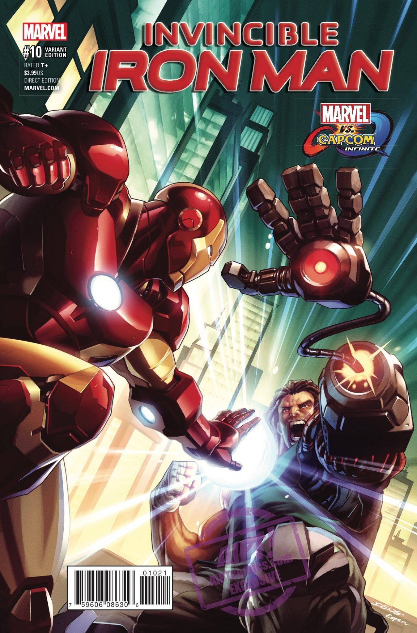 [EXCLUSIVE] Marvel Preview: Invincible Iron Man #10