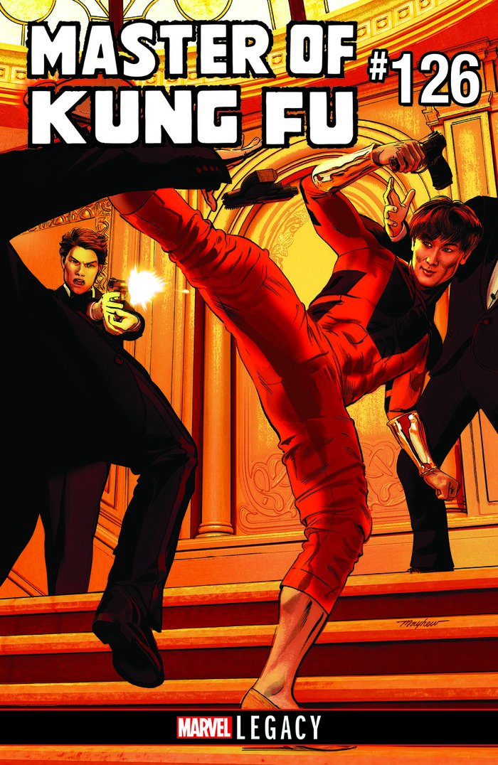 CM Punk is writing Marvel's 'Master of Kung Fu' #126