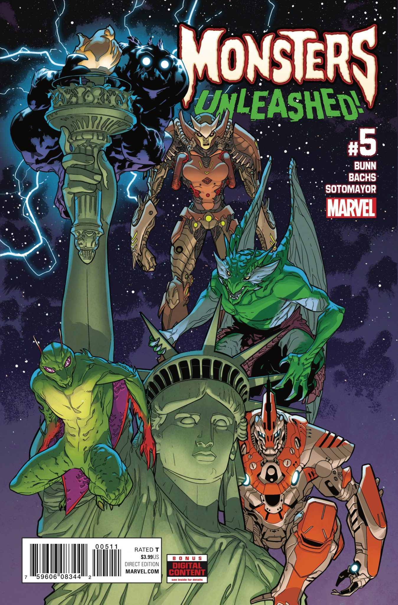 Marvel Preview: Monsters Unleashed #5
