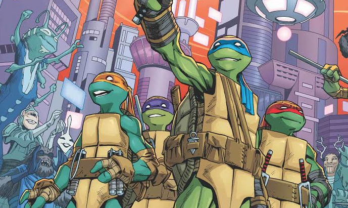 Teenage Mutant Ninja Turtles #73 Review