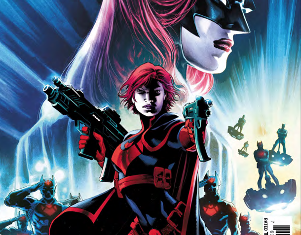 Batwoman jumps to the future of Gotham where things are quite bleak.