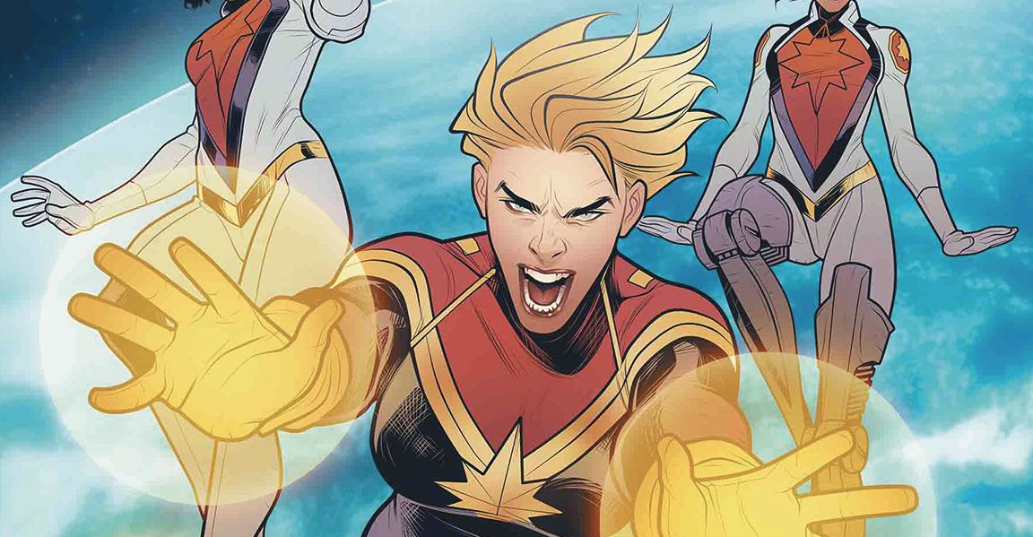 Marvel Preview: The Mighty Captain Marvel #8