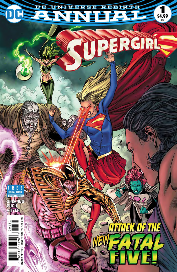 Supergirl Annual #1 Review