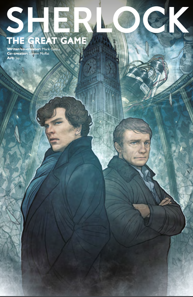 Sherlock: The Great Game #1 Review