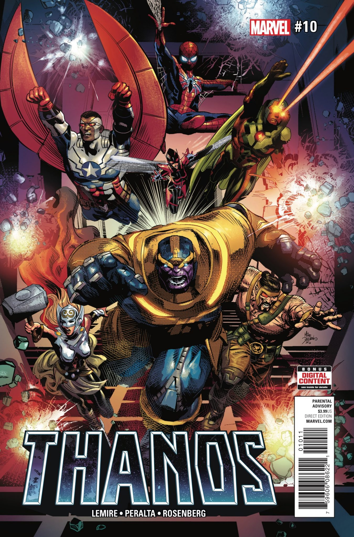 Marvel Preview: Thanos #10