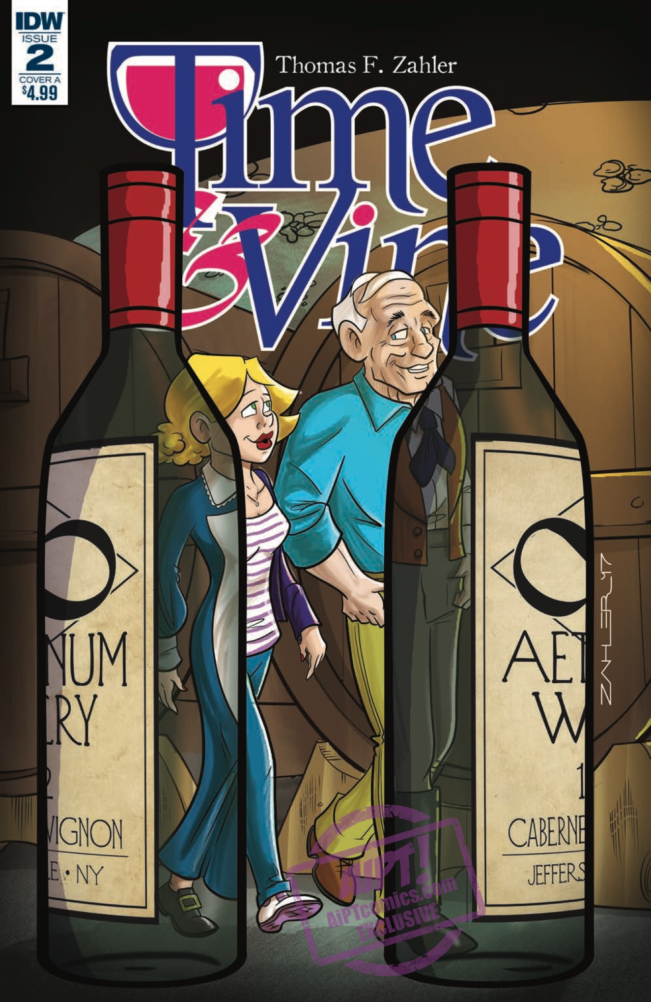[EXCLUSIVE] IDW Preview: Time & Vine #2