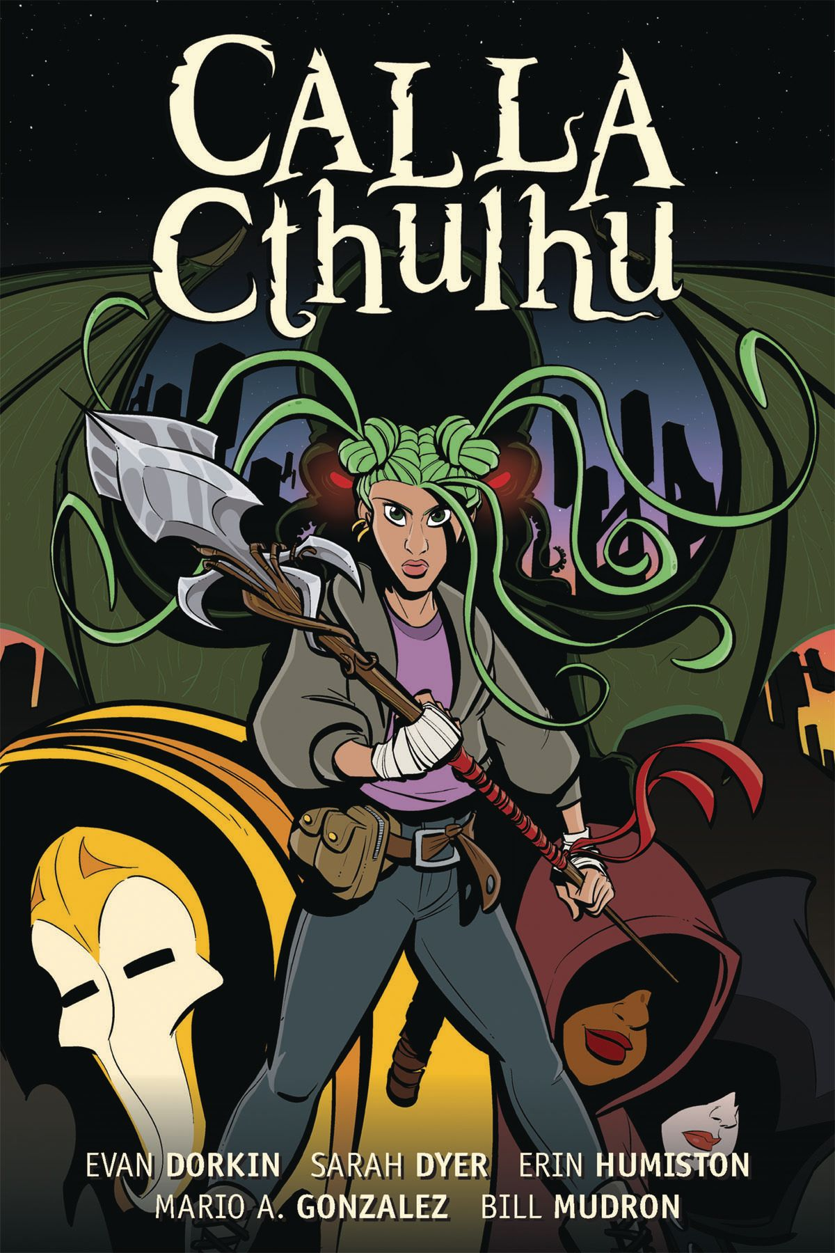 'Calla Cthulhu' attempts to create a true Lovecraftian tale for all ages, and mostly succeeds