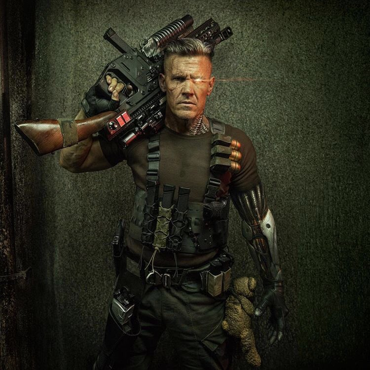 Deadpool 2: Ryan Reynolds reveals images of Josh Brolin as Cable