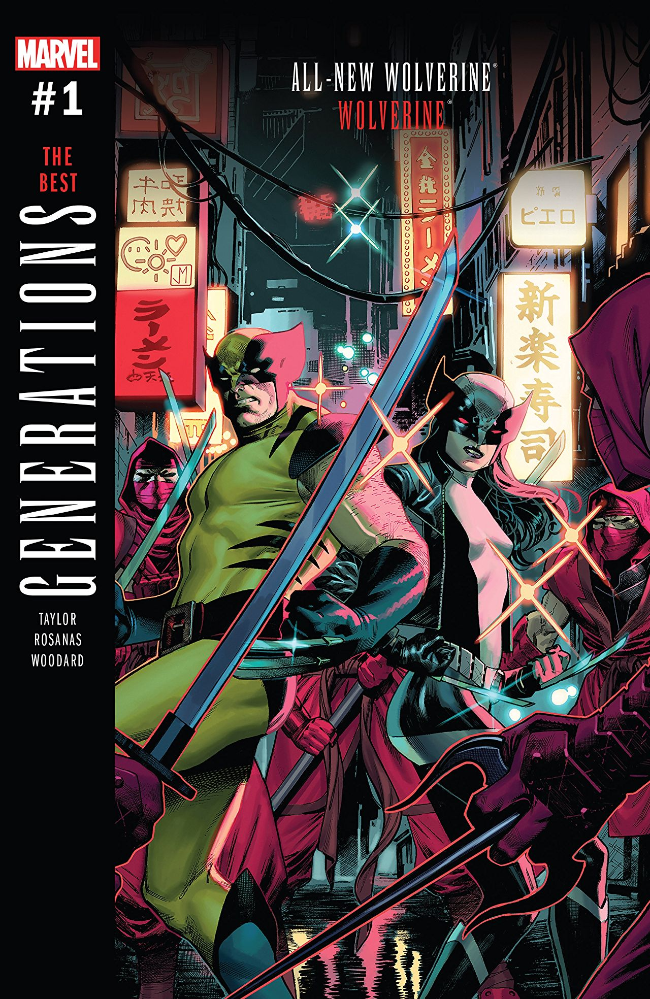 Generations: Wolverine & All-New Wolverine #1 Review