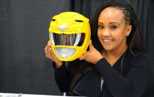 Former Yellow Ranger Karan Ashley talks 'Power Rangers,' her thoughts on the 2017 film, and 'The Order'