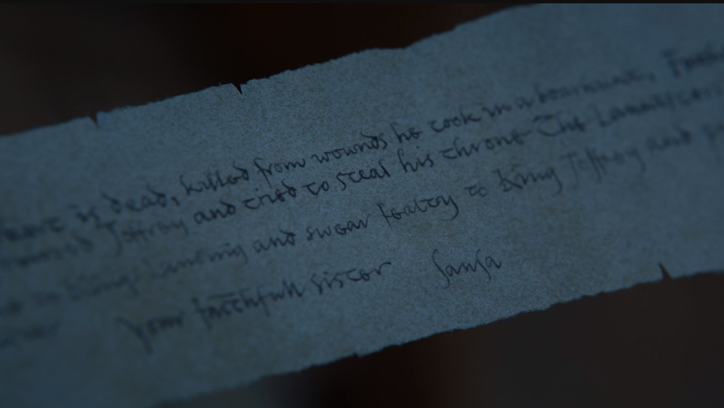 Game of Thrones: What did Littlefinger's note say?