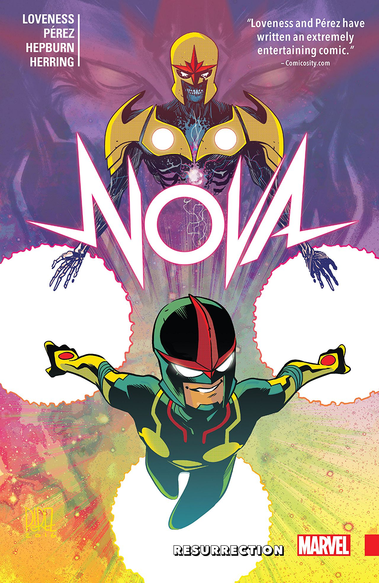 'Nova: Resurrection' review: two super-likable leads, energetic art and a compelling story -- what's not to like?