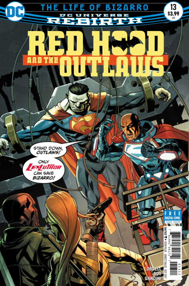 Red Hood and the Outlaws #13 Review