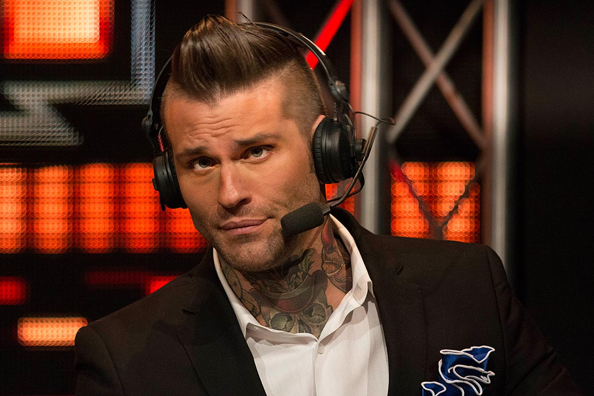 Corey Graves is taking over for JBL in Smackdown Live's announce booth