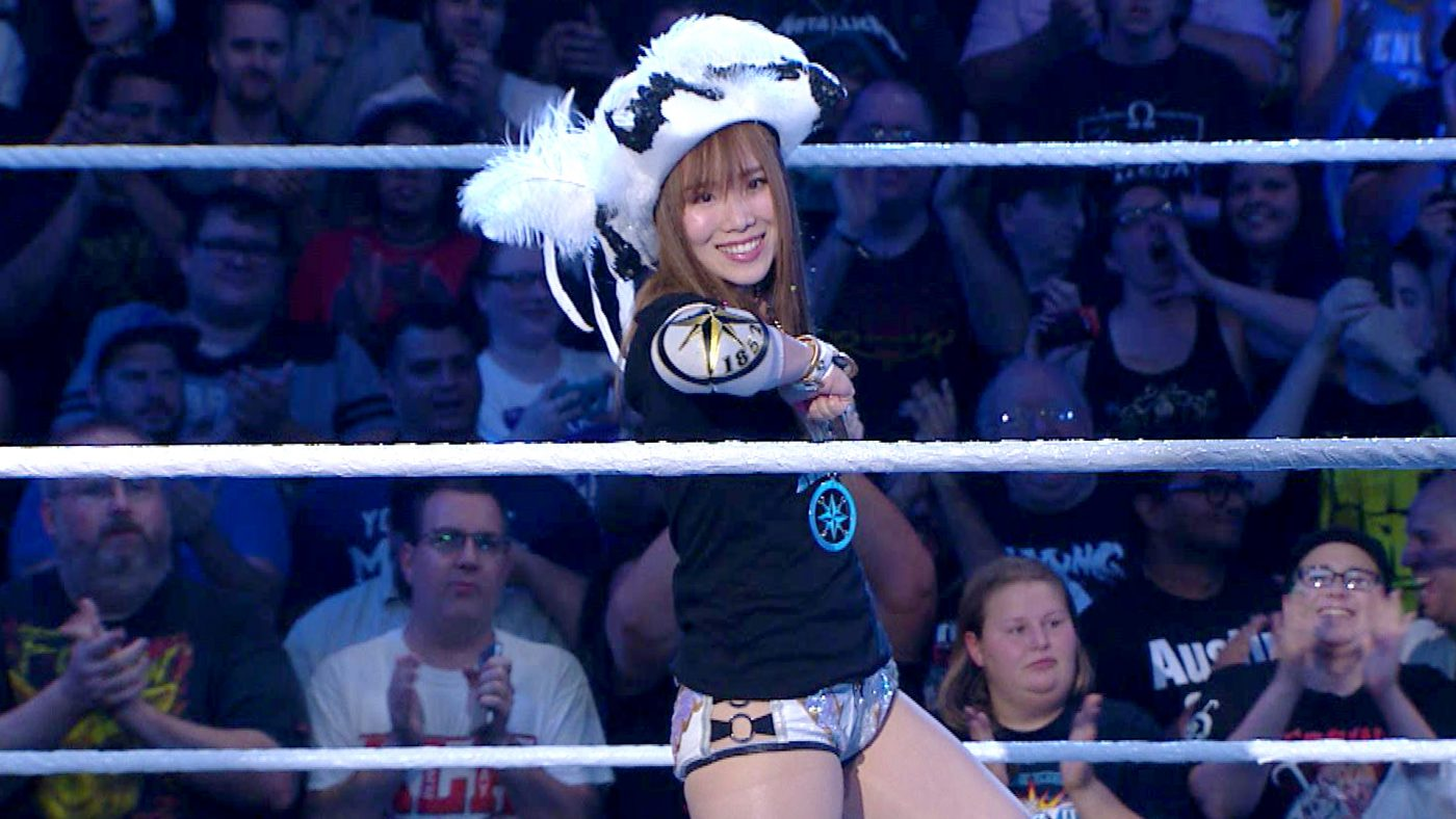 Kairi Sane will vie for the NXT Women's Championship at TakeOver:  Houston