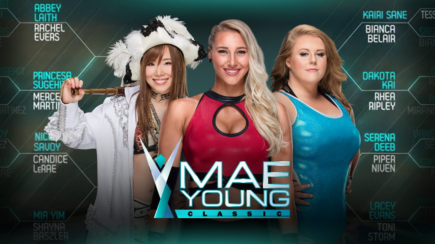 The semifinals of the Mae Young Classic airs this Monday after Raw. Who ya got?