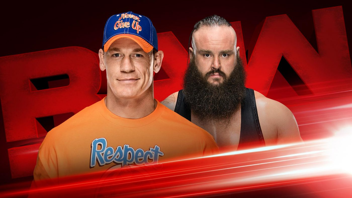 WWE Raw preview: September 11, 2017 -Strowman vs. Cena, Lesnar to appear live