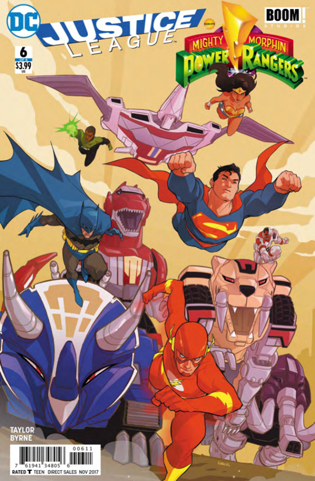 The final issue of Justice League/Power Rangers is here.  Is it good?