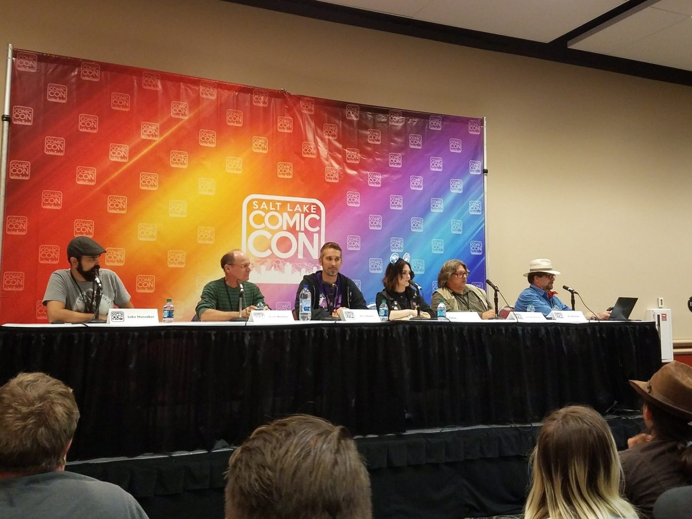 Salt Lake Comic Con - The perspective of a writer turned panelist