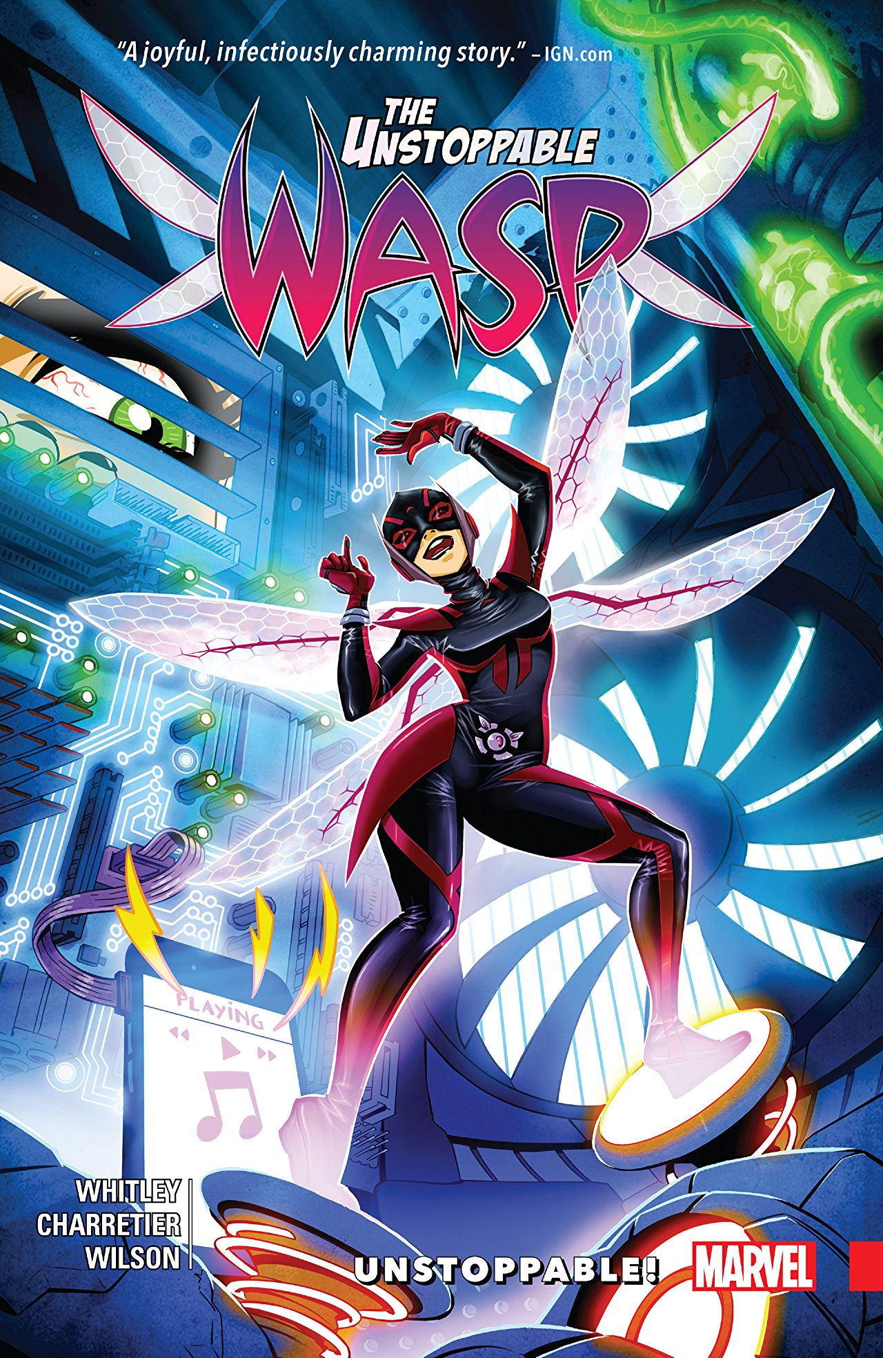 If you've been on the fence about Wasp getting her own series, read this collection and thank me later.