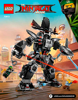 LEGO Ninjago Garma Mecha Man: Build part 2