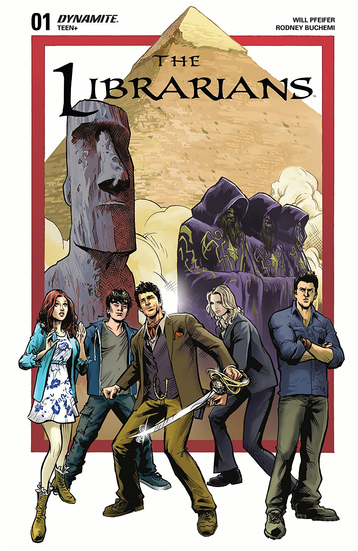 The Librarians #1 Review