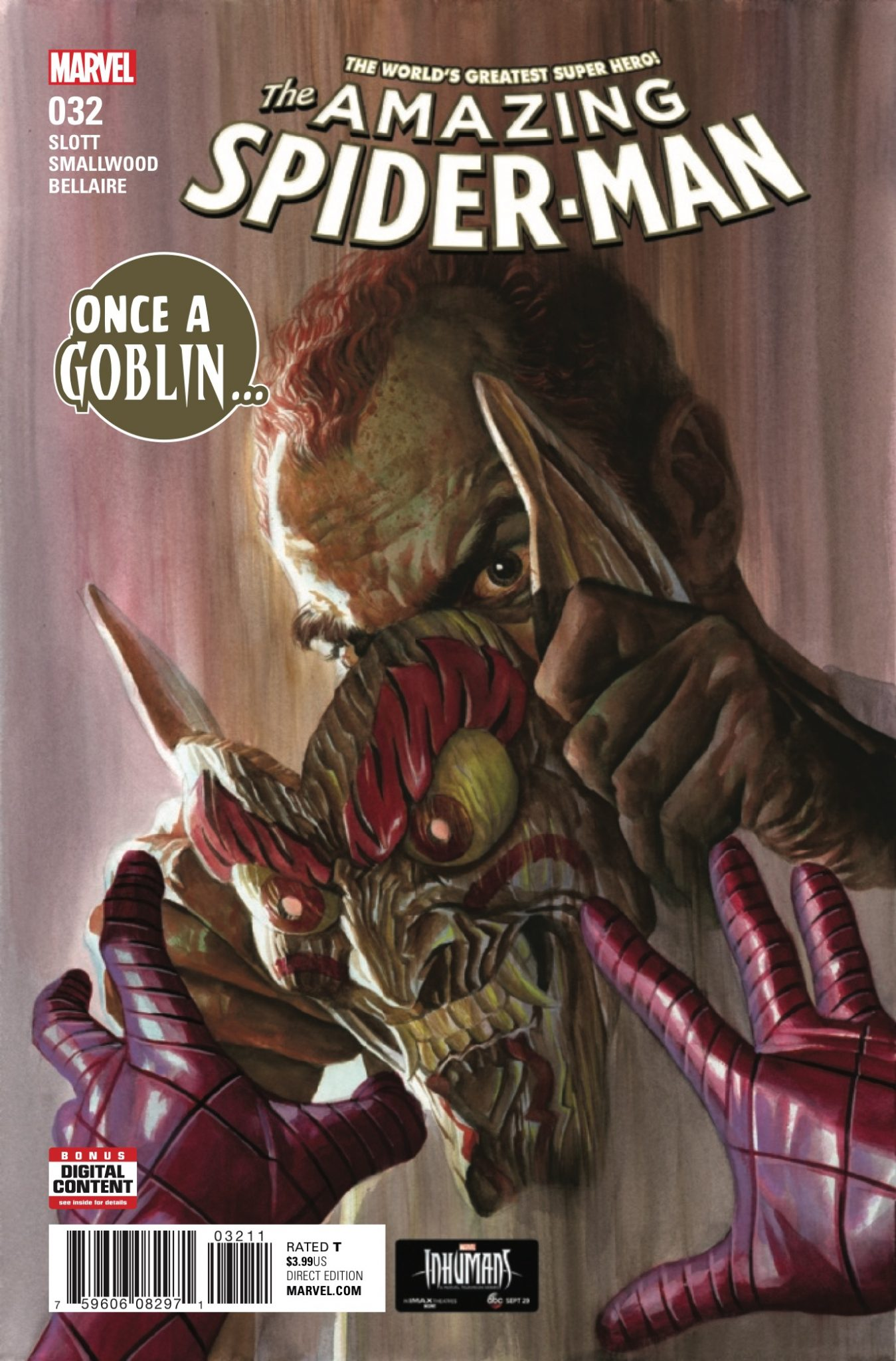 Norman Osborn's goblin-free battle with Spidey didn't go the way he had hoped.
