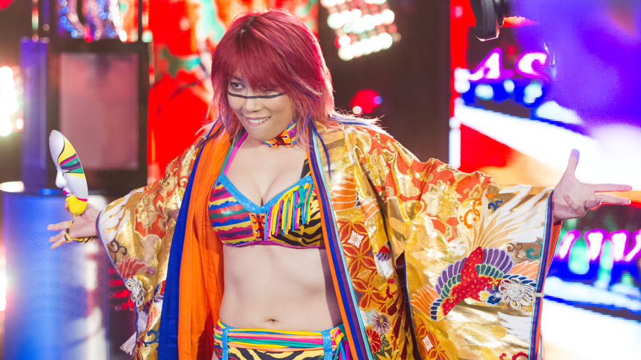 Asuka is headed to the Raw roster
