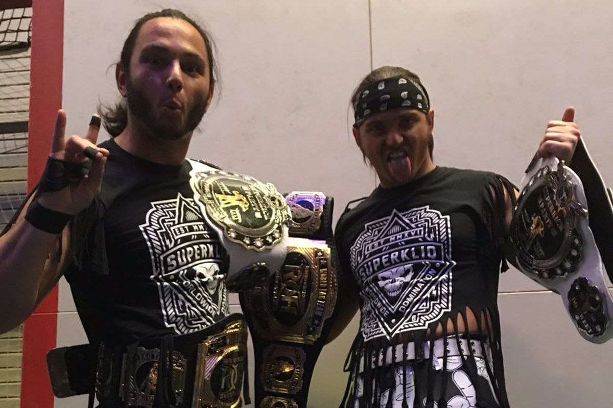 """WWE sends the Young Bucks a cease and desist over """"too sweet"""""""