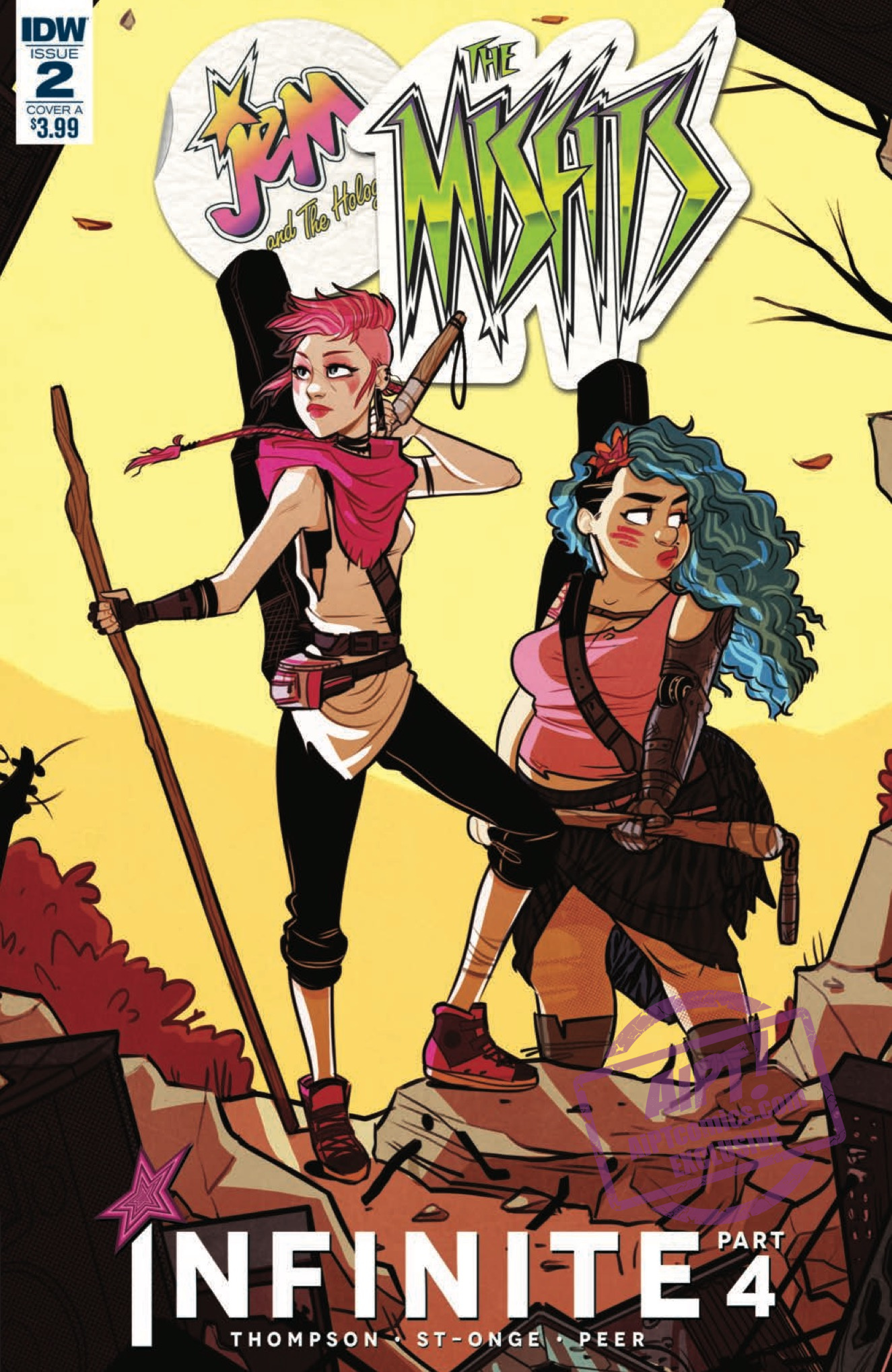 Exclusive Idw Preview Jem And The Holograms The